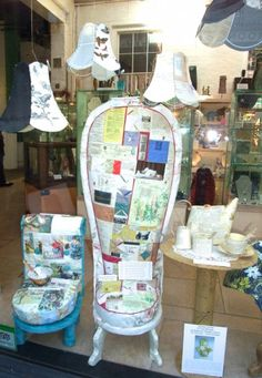Jennifer Collier paper & textiles - Call Bluecoat Display Centre on 0151 709 4014 for information & prices