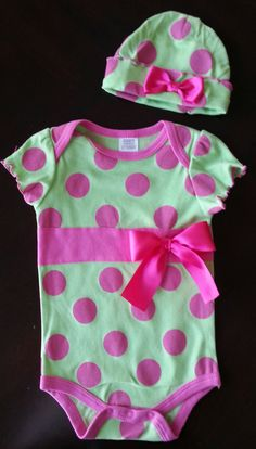 Baby Girl Valentine's Day Easter Polka Dot by tutusweetdesignsbyMA, $17.00