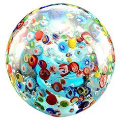 A world awaits. :: Confetti Paperweight