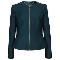 Buy Ted Baker Stacia Chintz Curved Suit Jacket Online at johnlewis.com