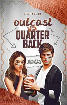 Outcast VS Quarterback // Book Cover by moonxriver on DeviantArt
