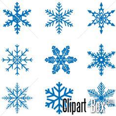 Snow Flake Mjpg Clipart - Free Clip Art Images