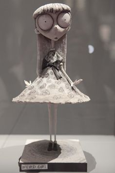 Tim Burton art: so it's in a different language.  But I desperately want to see this exhibit!