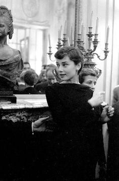 Audrey Hepburn photographed by Jack Garofalo 1955