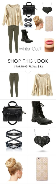 """""""Winter Outfit"""" by pearcemaddie ❤ liked on Polyvore featuring J Brand, Givenchy, Eva Fehren, Amorium, Sonix, LASplash, women's clothing, women, female and woman"""