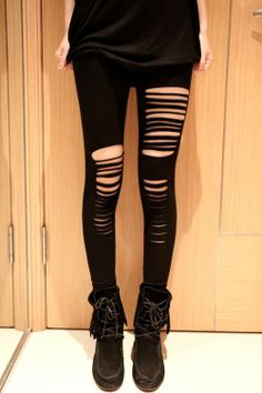 Leggings Punk Pants negro  Precio: $55.900
