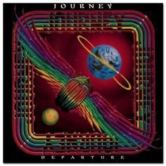 Journey - Departure.  My 2nd Album.  Yep, still have it.  Bought it for 'Any Way You Want It'.... Oh Steve Perry, why you gotta hold out on the reunion bro?