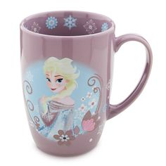 Elsa Mug - Frozen, Disney store. I love this!!!