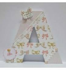 Bildergebnis für Buchstaben 3d verziert für Babypartyjungen