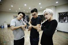 Imagen de donghae, eunhyuk, and super junior