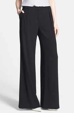 Chelsea28 Pleated Wide Leg Pants at Nordstrom.com. Crisp pleats finely tailor the top of these ultra-swanky woven pants cut in a classic wide-leg silhouette.