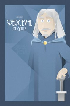 FACES OF KAAMELOTT SERIE - Perceval