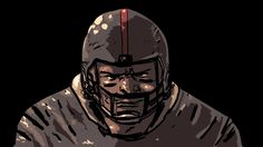 """""""Is the fear that you feel in the Super Bowl the same fear you feel in combat? The answer, it turns out, is yes,"""" says Grossman. Day Club, Psychology, Brain, How Are You Feeling, Batman, Darth Vader, Superhero, Feelings, Psicologia"""
