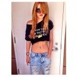 If you want look like Bella Thorne in this photo ? Go to http://looklikecelebs.com/bella-thorne-look-1-may-2014/
