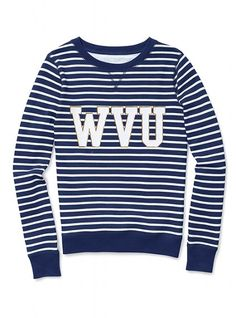 West Virginia University Pullover Crew - Victoria's Secret PINK® - Victoria's Secret