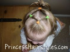 hairstyle for an infant