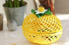 Easter egg - crochet - virkat påskägg