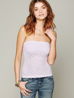 Intimately Free People Honey Textured Tube at Free People Clothing Boutique