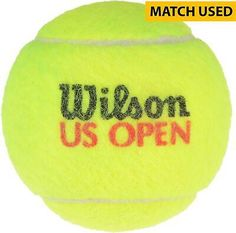 2009 Wilson US Open Match-Used Tennis Ball - Fanatics #gameused #sportscollectibles Sports Court, Sport Tennis, Us Open, Shop, Store