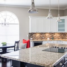Kitchen   Rowlett Lakehouse Staged to DWELL   Michelle Lynne INTERIORS Group