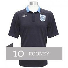 Rooney de la Selección de Inglaterra Eurocopa 2012 Away Camiseta futbol   707  - €16.87   Camisetas de futbol baratas online! f729e167779