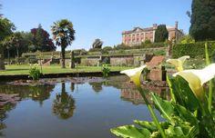 Italian garden at Tapeley Park, Instow, Devon