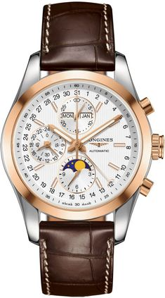@longineswatches  Conquest Classic #add-content #bezel-fixed #bracelet-strap-alligator #case-material-steel #case-width-42mm #chronograph-yes #date-yes #day-yes #delivery-timescale-1-2-weeks #dial-colour-silver #gender-mens #gmt-yes #l27985723 #luxury #moon-phase-yes #movement-automatic #official-stockist-for-longines-watches #packaging-longines-watch-packaging #perpetual-calendar-yes #style-dress #subcat-conquest #supplier-model-no-l2-798-5-72-3 #warranty-longines-official-2-ye...