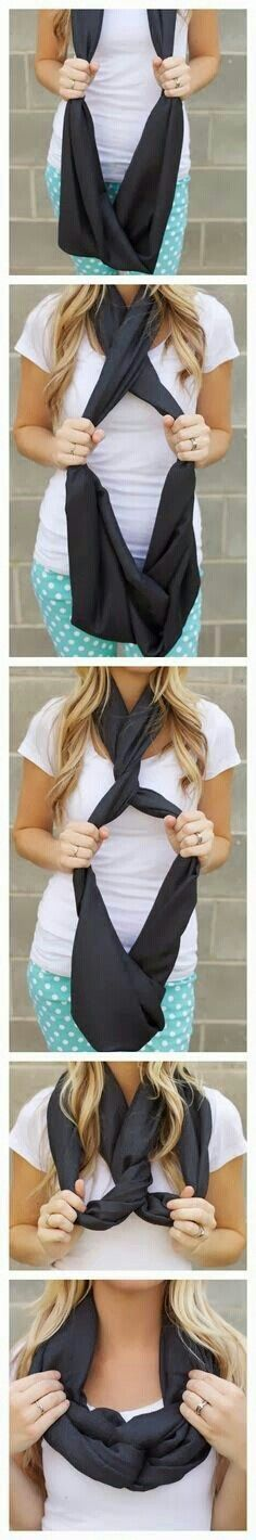10 ways to wear different types of scarfs