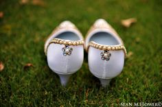 Custom made one of a kind wedding shoes made in Ireland