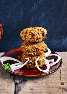 {New post}. Vegetarian shammi kaba recipe,delicious and healthy vegetarian shammi kaba recipe with black chick peas,recipe @ http://cookclickndevour.com/2015/02/vegetarian-shammi-kabab-recipe.html
