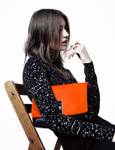 **it's always been my thought that accessorizing properly can really make an outfit. :)**  Seeing CFDA - Proenza Schouler (Accessories Nominee) {photograph by Willy Vanderperre}