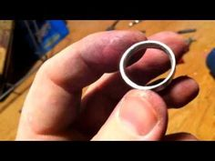 How to Make a Silver Coin Ring - Washington Quarter Style