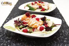 Une salade colorée à base de produits Picard qui mélange les saveurs de la langoustes, de la framboise, de la pomme verte et de la vanille. Recette à consulter ici : http://crookies.fr/salade-de-mesclun-aux-langoustes-pomme-verte-et-framboise-a-la-vanille/