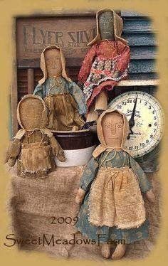 Prairie Dolls by Sweetmeadows Farm