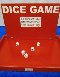 Dice Game  Party Game Ideas   Jack's Carnival Games