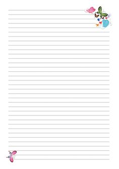 страницы для блокнота Printable Lined Paper, Free Printable Stationery, Lined Writing Paper, Borders For Paper, Specialty Paper, Journal Paper, Good Notes, Stationery Paper, Planner Pages