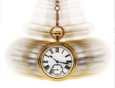 A swinging pocket watch travels back and forth through time ... think about it ... We have an everyday sense of time, but what exactly is it? The question is as hard to answer as whether or not time travel will ever be possible!