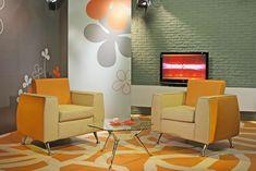 TV studio dressing