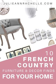 Romantic French Country Bedrooms: Are You Prepared to be Amazed? — Julie Ann Rachelle Interior Design - Romantic French Country Bedrooms: Are You Prepared to be Amazed? French Country Crafts, French Country Furniture, French Country Bedrooms, French Country Style, French Country Decorating, Modern Rustic Dining Table, French Dining Chairs, Industrial Artwork, Industrial Design Furniture
