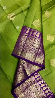 Love the color combination green and purple