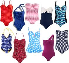 One-Piece Wonders -- Call it retro or so-right-now, but the one-piece swimsuit is back in action on the beach. Sure, bikinis are still popular, but whereas the once-piece was once considered the most modest, boring swimsuit you could get, it's now made its way back into shops beyond the athletic-gear section.