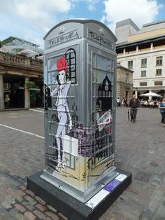 Hear are some of London's Phone Box Art that we have spotted, post any that are mist out