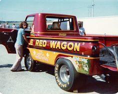 Little Red Wagon wheelstander 1975