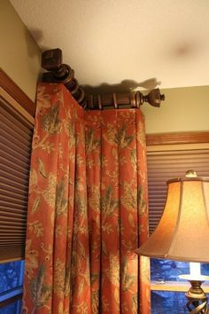 Small Den Do Over Tall Windows Hang Curtains And Calico