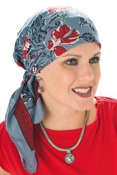 nouer foulard cancer chimio