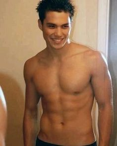 """Celebrities - Michael Copon Because he just might be our Jacob Black in """"New Moon""""! Power Rangers, Michael Copon, Kendall, Marlon Texeira, American Guy, Filipino Tattoos, Asian Eyes, Jacob Black, Shirtless Men"""