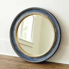 Who sells mirror decor? Find stylish mirror decor, wall art mirrors, and more at Ballard Designs today! Cheap Wall Mirrors, Mirror Wall Art, Blue Mirrors, Round Mirrors, Oval Mirror, Nautical Mirror, Mirror With Shelf, Entry Table With Mirror, Mirror Shelves