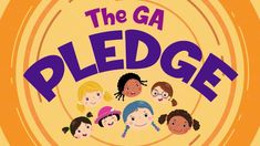 The Girls in Action Pledge Action, Make It Yourself, Teaching, Children, Girls, Life, Group, Videos, Youtube