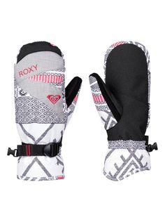 roxy, ROXY Jetty - Moufles de snow, WINDY ROAD_TRUE BLACK (kvj6)
