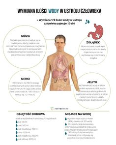 Ile wody tak naprawdę należy wypijać w ciągu dnia? - Motywator Dietetyczny Healthy Eating, Wellness, Diet, Eating Healthy, Healthy Nutrition, Clean Foods, Healthy Diet Tips, Eat Healthy, Healthy Eating Habits